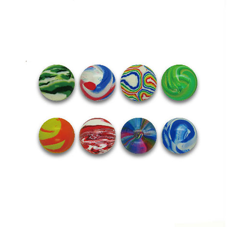 Bonbons Cadeau Nouveauté Bonbons Grue Petites Capsules Jouets En <span class=keywords><strong>Caoutchouc</strong></span> Art 28mm Balles Rebondissantes pour Distributeurs