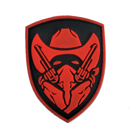 Custom Army Military Uniform School Silicone Rubber Pvc Arm Badges Patches