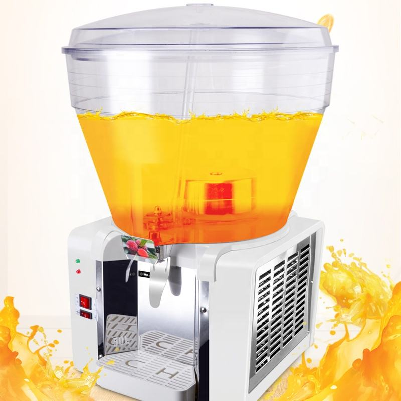 Four Bowl Tank 10L Refrigeration Drink Juice Dispenser Machine For Sale