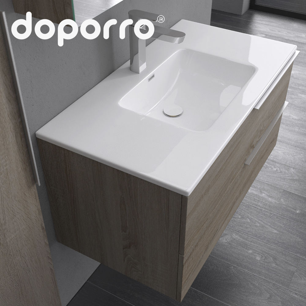 Doporro wholesale bathroom wall Hanging Bathroom cabinets in size 1000mm For Promotion