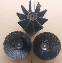 3pcs per set Sweeping roller and disc brush for outdoor cleaning