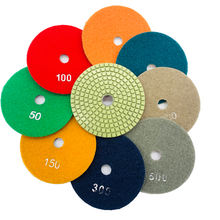 metal bonded diamond polishing pad