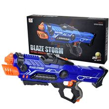 Blaze storm plastic gun toy china kids gun toys electric blaster gun