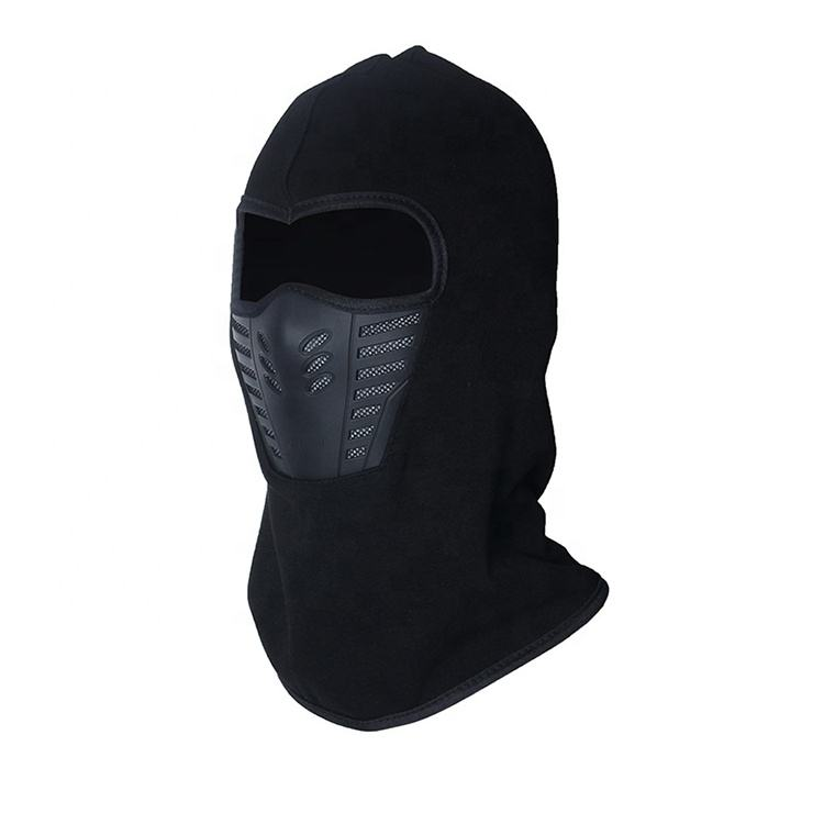 Black Windproof Motorcycle Full Face Mask Winter Anti Dust Face Shield Guard Outdoor Balaclava Masque Mascarilla