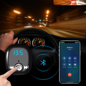 Terbaru Bluetooth FM Transmitter Nirkabel Bluetooth Handsfree Charger Mobil Ganda USB