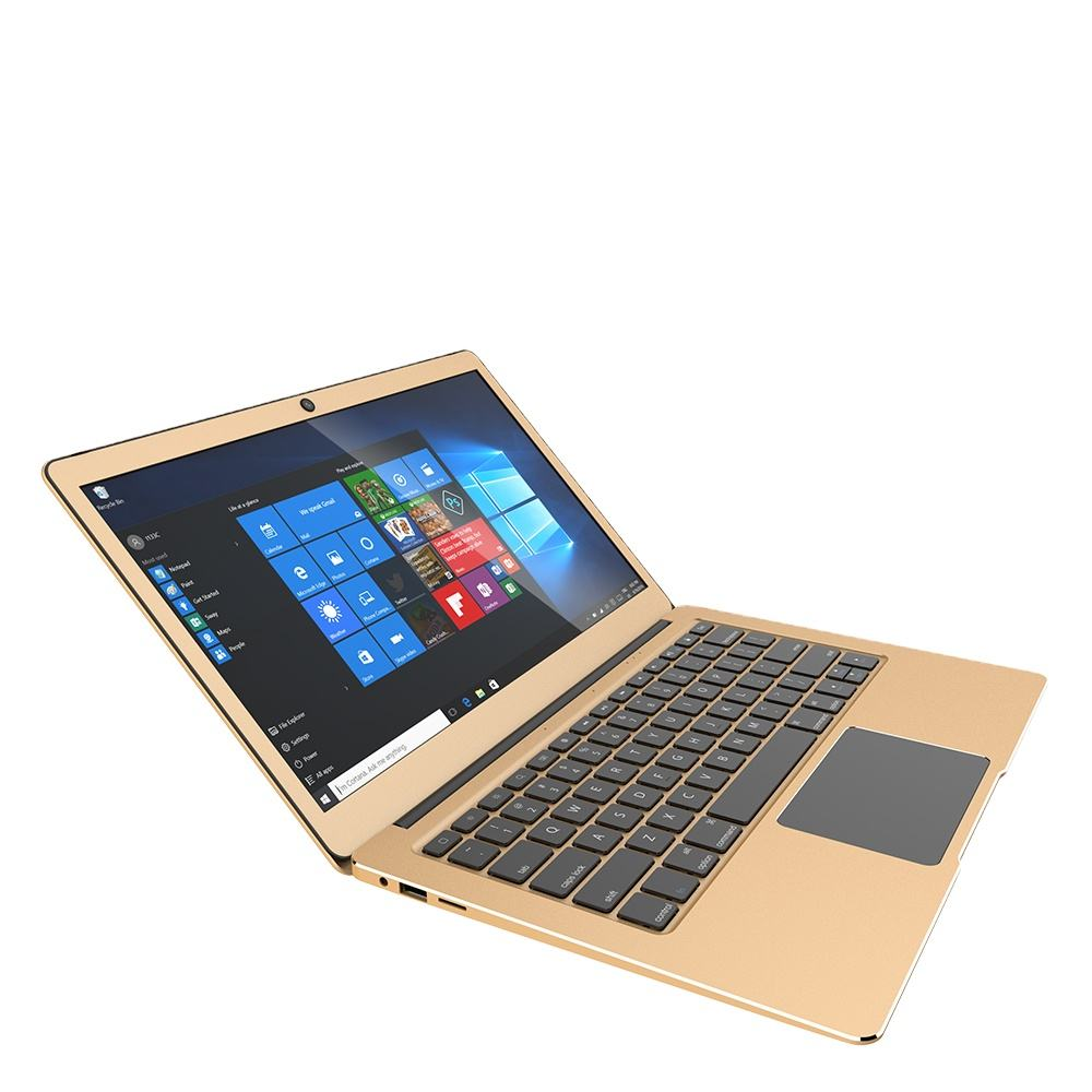 Laptop 13.3 Inci OEM Apollo Lake Cerelon N3350 Netbook Windows10 Komputer Laptop 1920*1080 IPS dengan CE Rohs