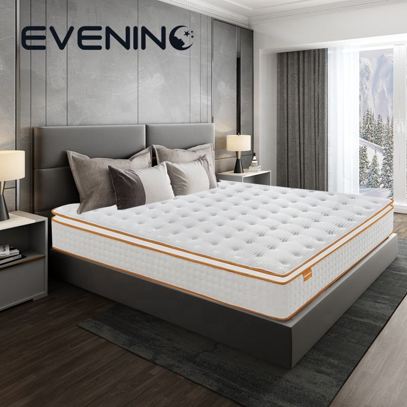 Queen Size Traagschuim Matras Met Pocket Lente, Bed Matras Fabrikant Uit China