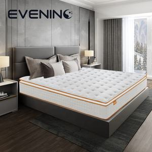 Queen size memory foam mattress with pocket spring , bed mattress manufacturer from China