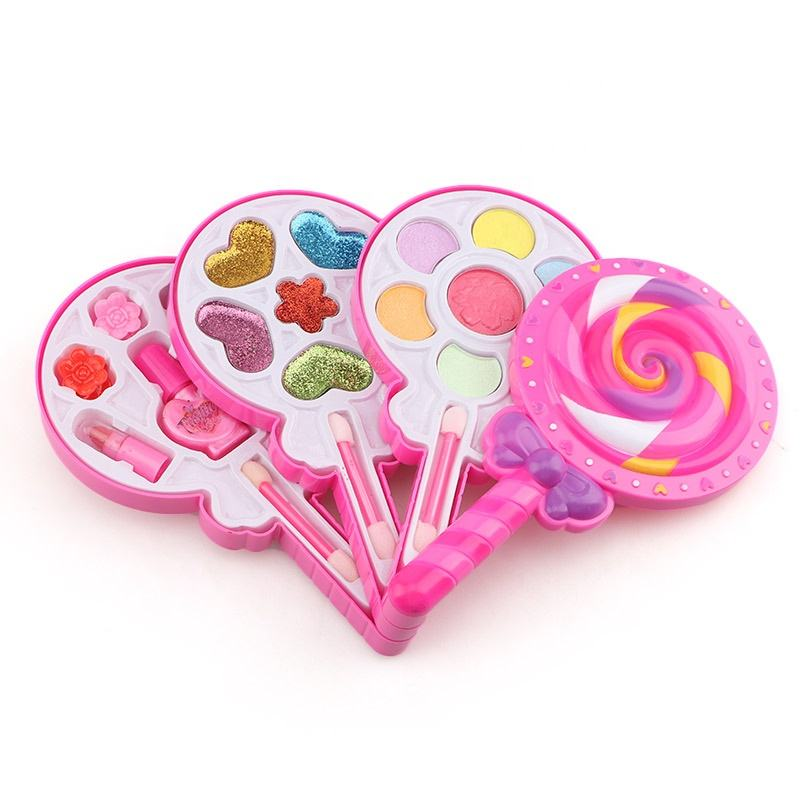 Latest Design Children Pretend Play Girls Toys Cosmetics Kit Make Up Toys Beauty Set Toy