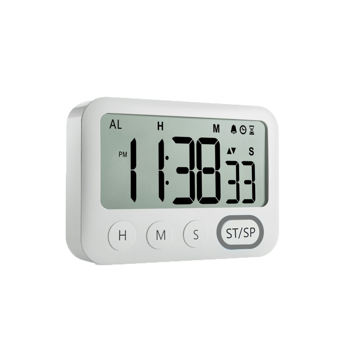 Kitchen Timer Digital Kitchen Timer Magnetic Countdown Stopwatch Timer With Loud Alarm, Big Digit, Back Stand, Hanging Hole
