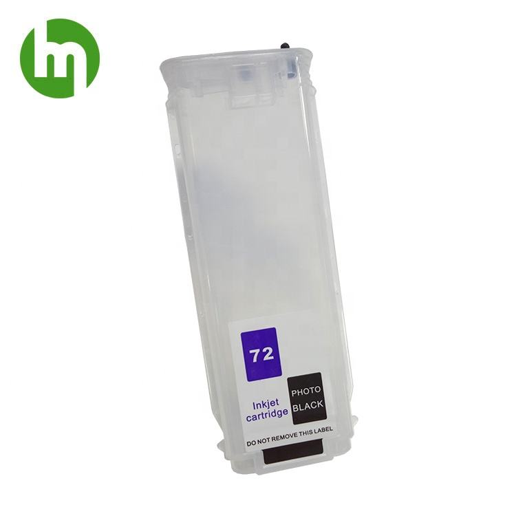 280 ML Per HP72 Cartuccia Riutilizzabile per HP designjet T610 T770 T790 T1100 Plotter