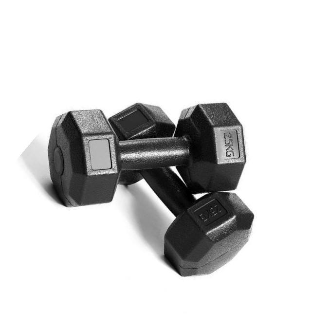 Factory - made cast iron dumbbells