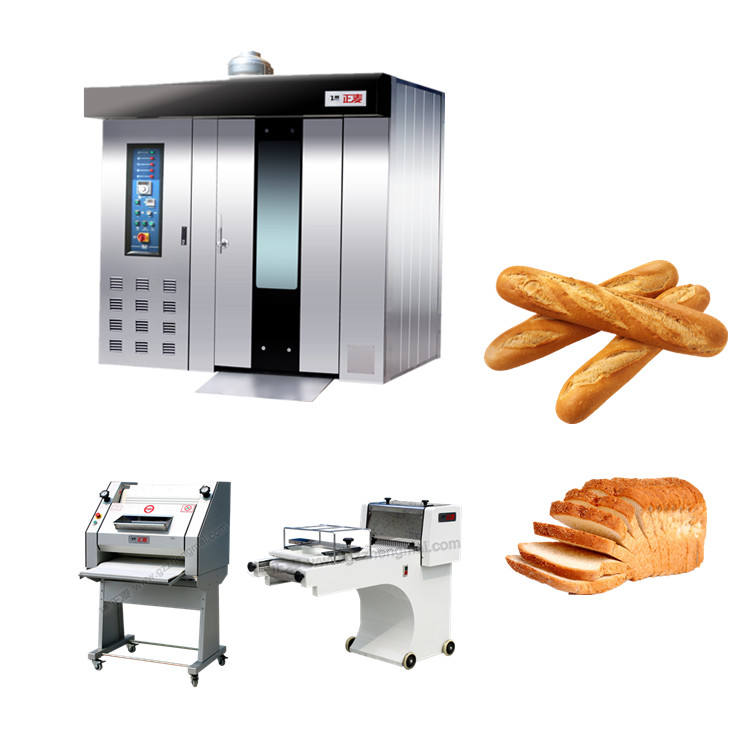 industrial french baguette production line