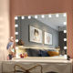 Tabletop or Wall Mounted Makeup Dressing Table Vanity Set Mirrors Hollywood Lighted Makeup Vanity Mirror Light