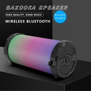 Big wireless karaoke dj party fm portable rechargeable speaker with party light