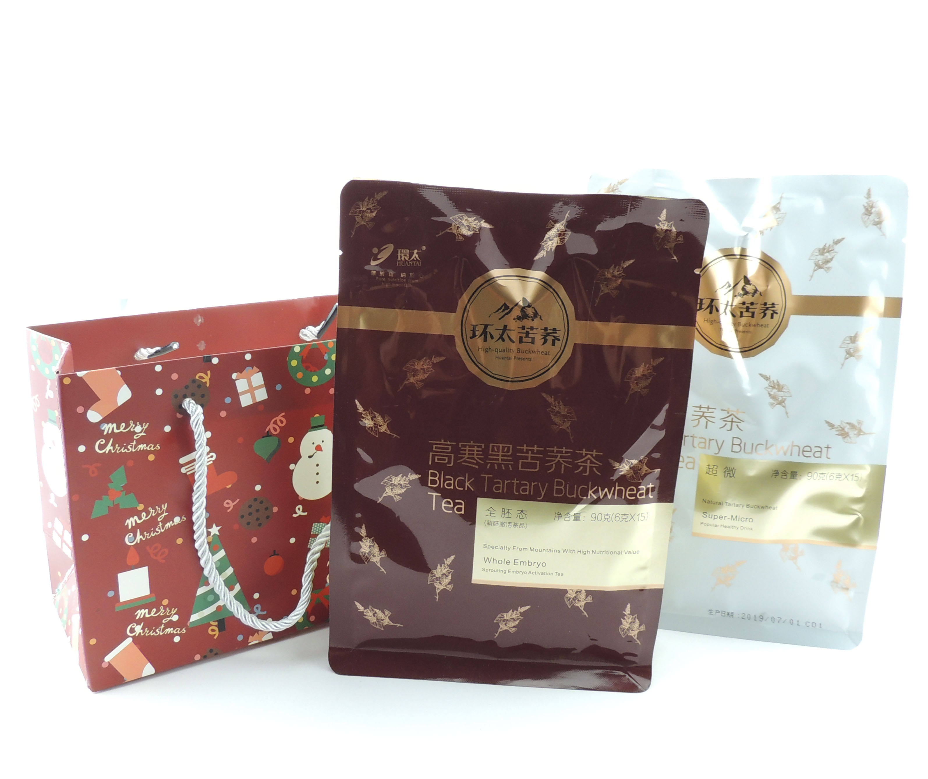 highly prized for being a nutrient-rich organic super food Chinese soba buckwheat tea for Christmas gift diabetic drink