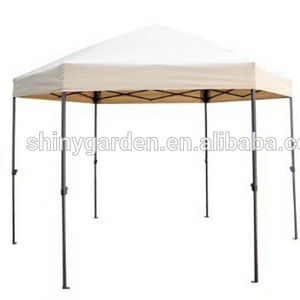 2 x 2m Outdoor Mordern Steel Pole Hexagonal Gazebo Tent