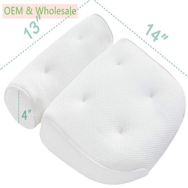 2020 Amazon Hot Selling Free Sample Chinese Supplier Wholesale 3d Bath Pillow