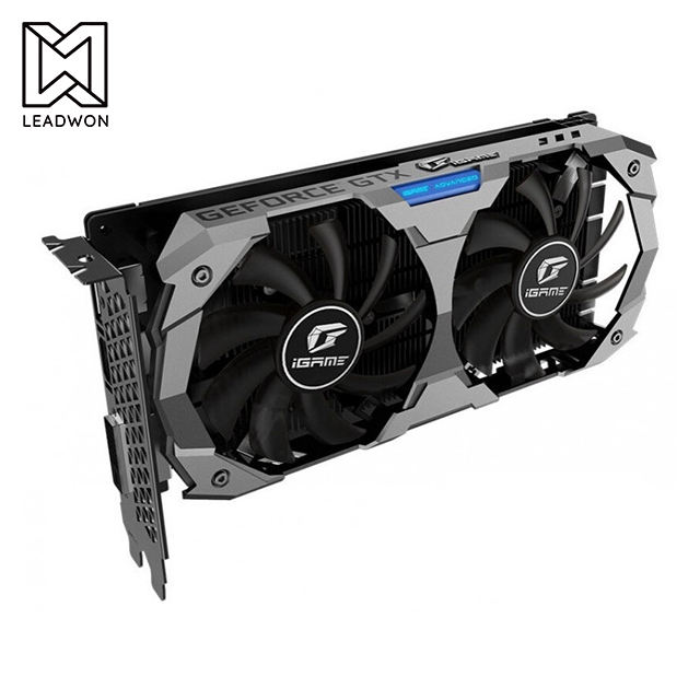 Placa Gráfica GeForce GTX 1650 SUPER OC WINDFORCE 4G com 4GB GDDR6 128-bit de Interface de Memória