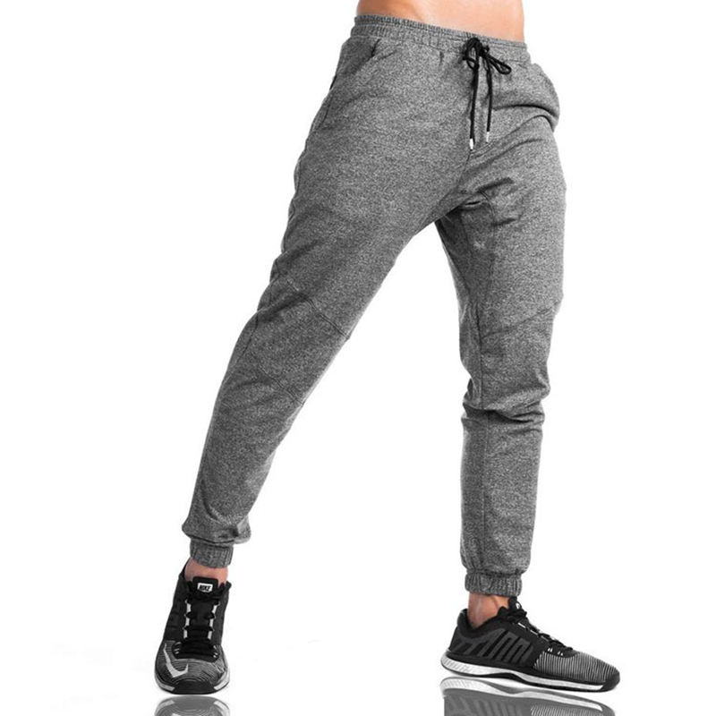 custom Wholesale Fashion Joggers Track Pants Custom Design Your Own Logo Slim Fit Polyester Cotton Sweatpants For Men