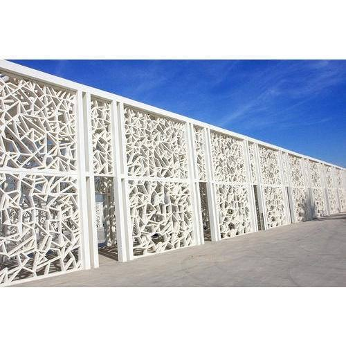 European fashionable facades exterior grc wall panel