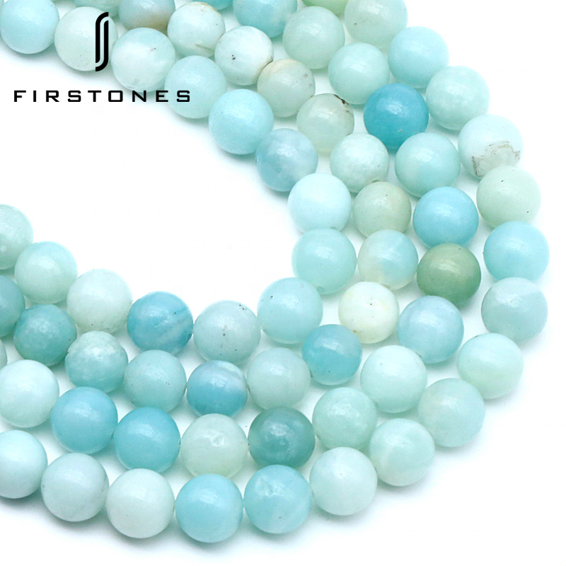 AA Amazonite Gemstone Beads 6mm 8mm 10mm For Jewelry Making Beads For Bracelets