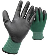 Color Customized Nylon Nitrile Coated Gloves Garden Work Nitrile Safety Gloves