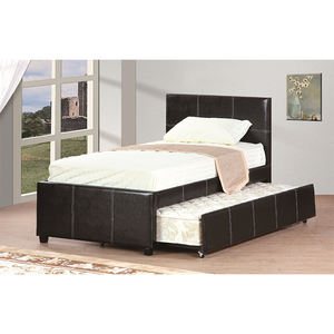 Luxury Italian Style Morden Storage Bed Leather Modern Bed
