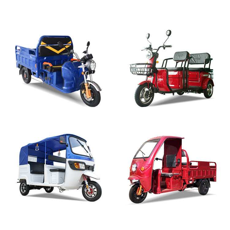 Chinese Manufacture Supplying Electric Tricycle 2021 EEC Approval Auto Environmental Friendly New Product Made In China