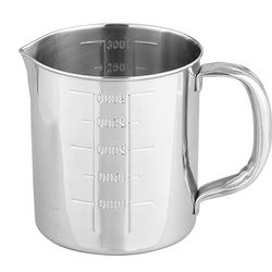 Stainless Steel Beaker 3L with Handle