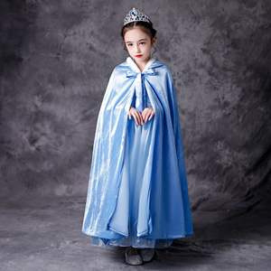 Wholesale Frozen Elsa Movie 2 Costume Kids Snow Queen Cosplay Dress Girls White Elsa Party Carnival Halloween Dress