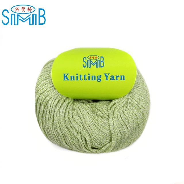 FY-KL2901 china woolen manufacturer smb direct wholesale eco friendly 50g apple balls wool cotton mix yarn