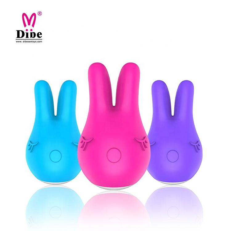 Hot Women Sex Toys Cute Vibrator Rechargeable Rabbit Vibrator Powerful Clamp Vaginal Clitoral Stimulator