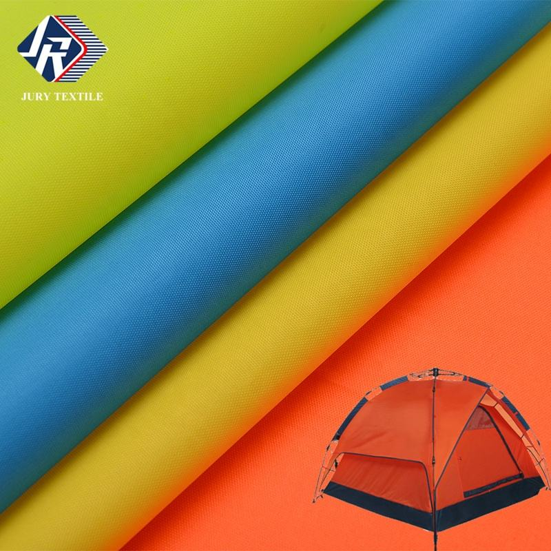 210D high density waterproof PU coating 100%polyester oxford tent fabric