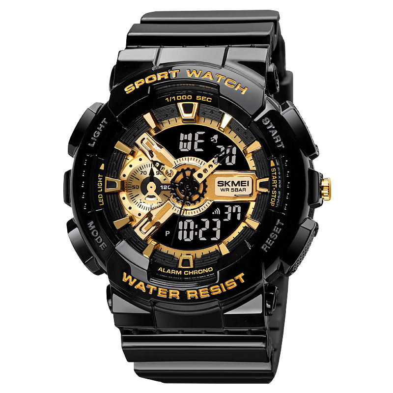 SKMEI 1688 New Arrival Big Case Watches waterproof Electronic Fashion Classic Sports Plastic Digital reloj wristwatch