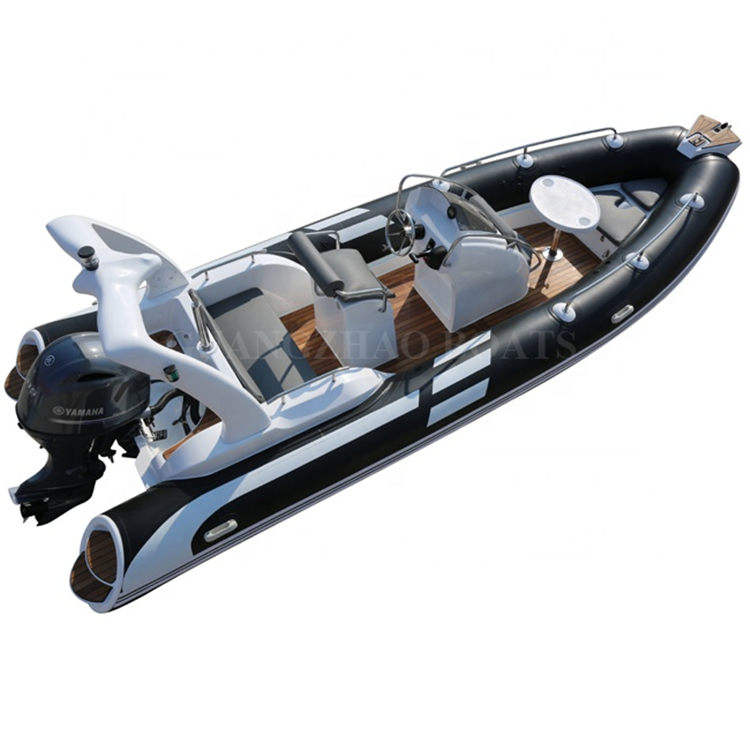 19ft 5.8m yacht luxury rib boat with motor for sale RIB 580