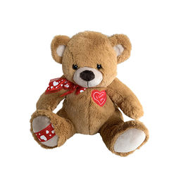 Manufacturers Customized Cartoon Cheap Plush Bear With Love