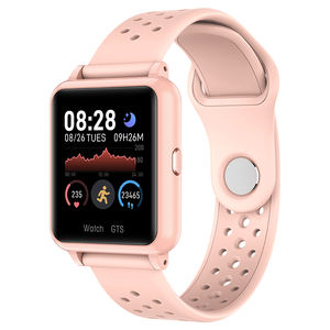 2020 Ip67 Waterproof Touch Screen Woman Smartwatch Health Blood Pressure Heart Rate monitor sports Fitness tracking Smart Watch