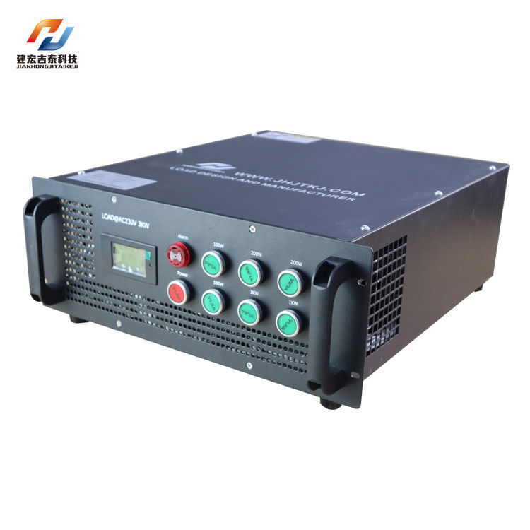Discharge Test Machine Decade Resistance Box Capacity Resistive Bank Ac 3Kw Ac220v Battery Load Tester