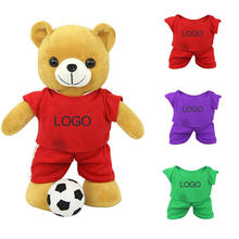 oem manufacturers wholesale soft fabric stuffed animal valentine custom bear plush toy for girlfriend