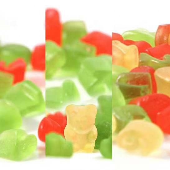 Bear Shaped Soft Gummy Chewy Candy