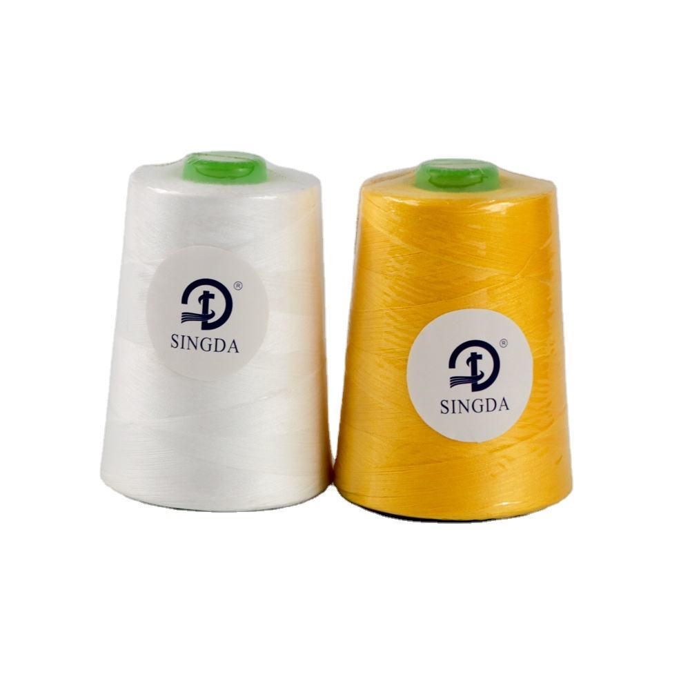 40/2 40/3 Thread 100%Polyester Thread Fire Retardant Polyester Sewing Thread Lower Price 40/2 40/3