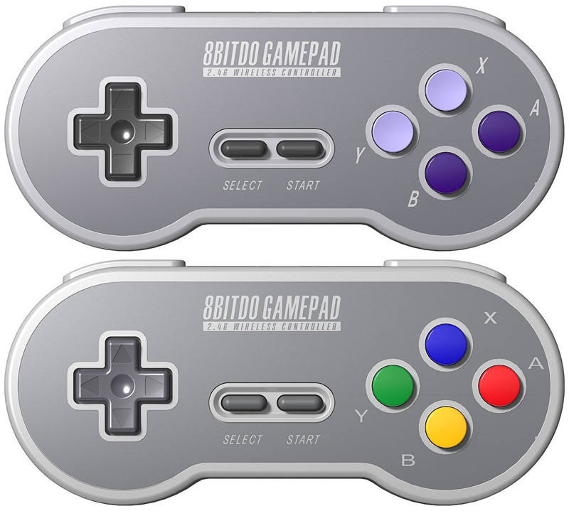 2020 Hottest 8bitdo SF30/SN30 wireless controller with 2.4GWIFI gamepad