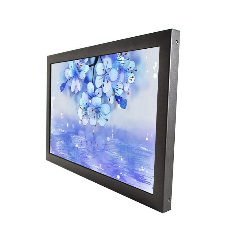 Rack mount 15 inch lcd monitor 12v with BNC input