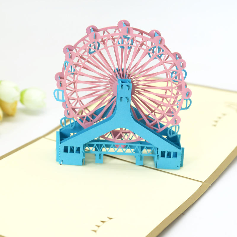 3d Laser Cut Pop Up Happy Birthday Greeting Invitation Cards