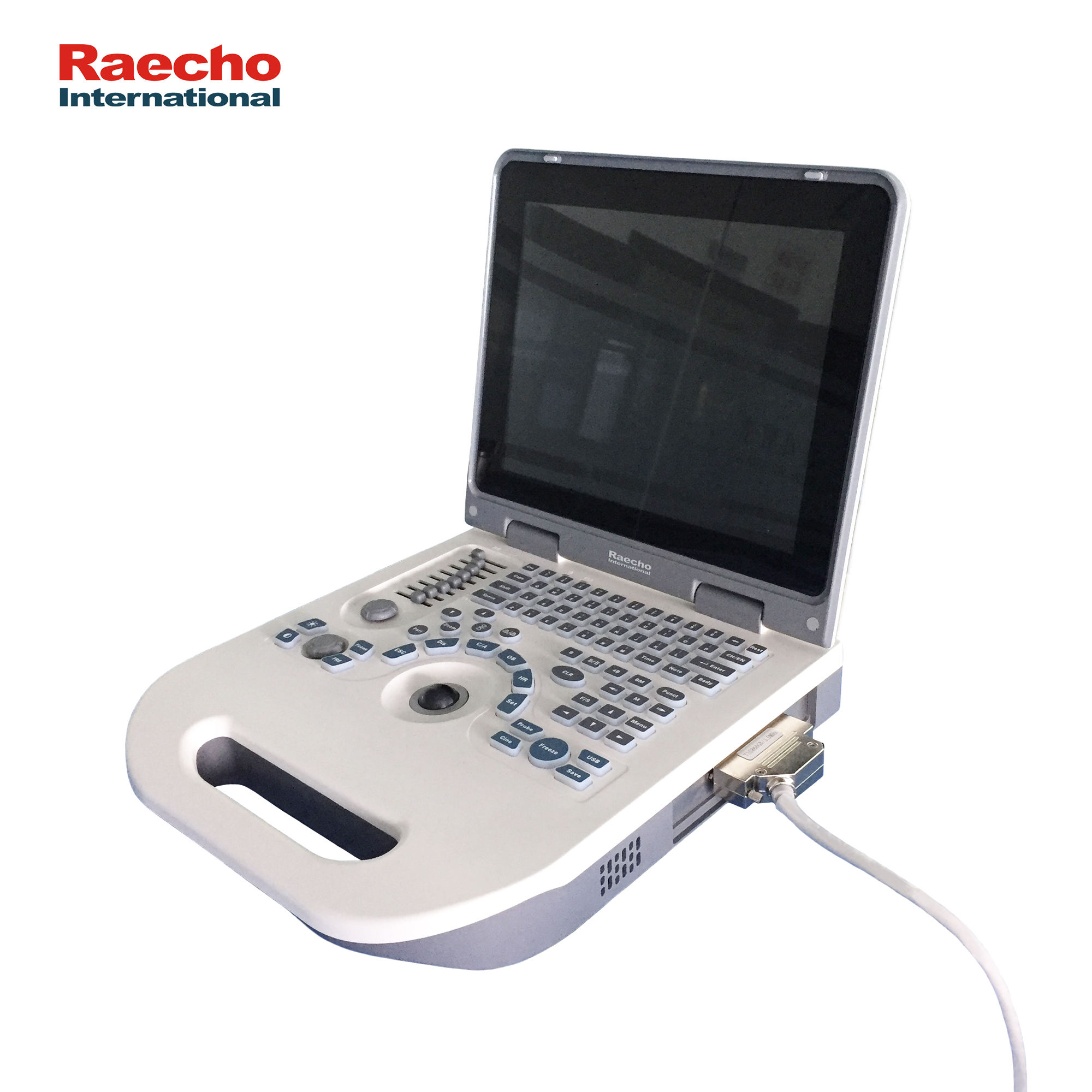 Ultrasound Scanner Black   White Laptop Ultrasonic System