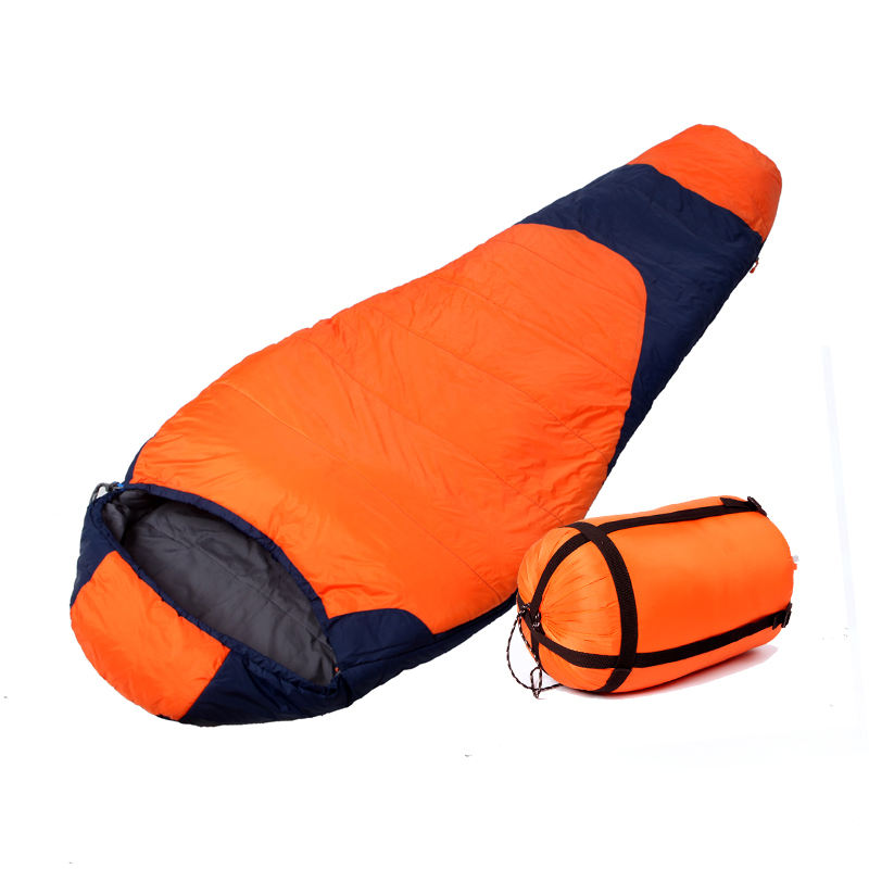 Attractive Design Free Sample Quality 380T Nylon Shell Outdoor Travelling Camping Sleeping Bag