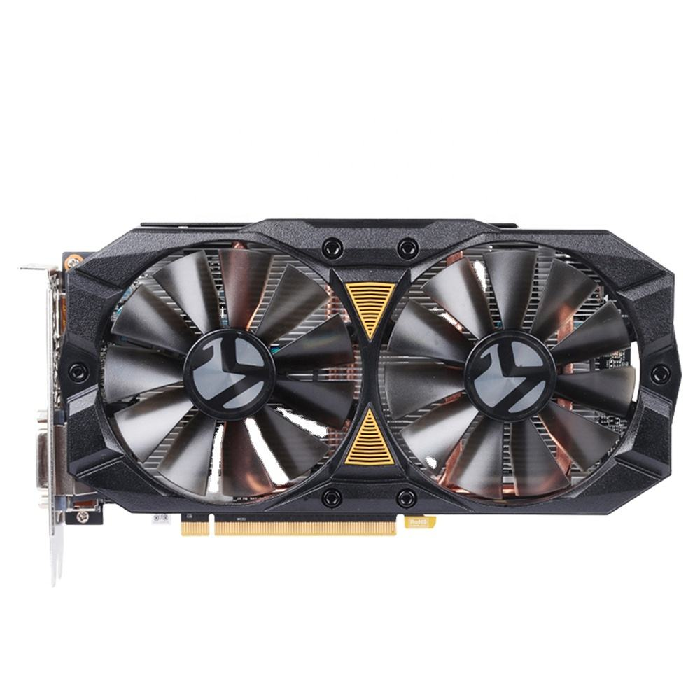 MAXSUN graphic card rx 580 2048SP BIG MAC Plus 8G AMD 256bit GDDR5 8PIN 2048units 7000MHz 1168-1284MHz video card
