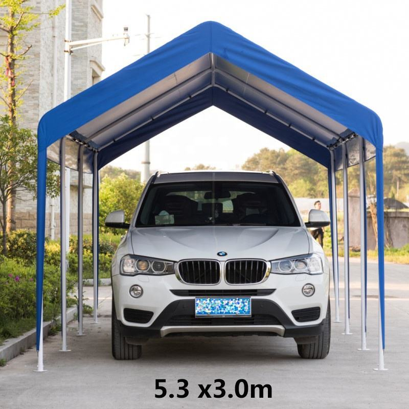 Wholesale Outdoor Portable Easy Folding Car Parking Canopies Carports Tent Garages For Cars