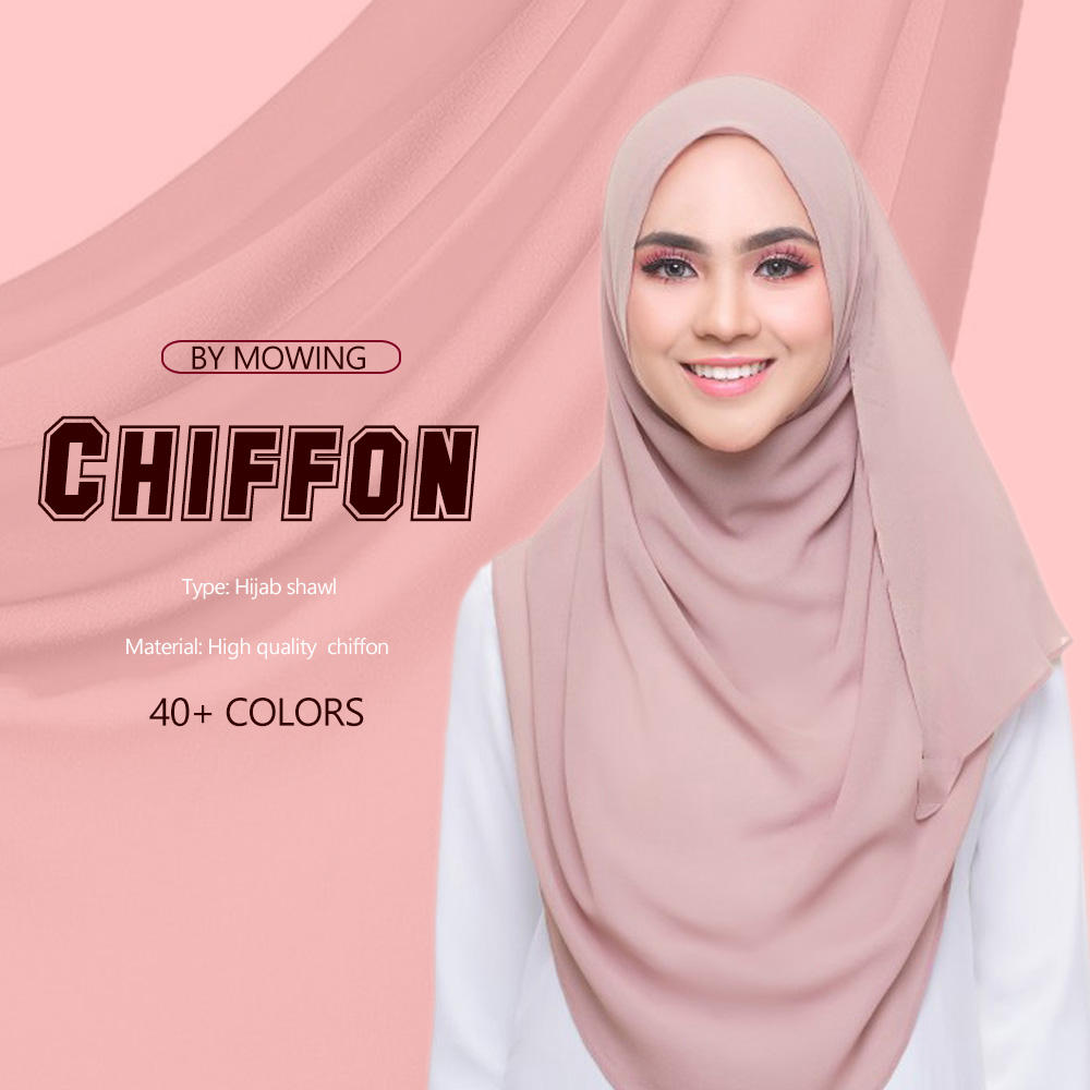 Special Offer Wholesale Muslim High Quality Chiffon Hijab Scarf Fashion Chiffon Hijab